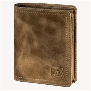 Hama 1923 Mailand, pánska kožená peňaženka s ochranou dát Cryptaloy H1C, svetlo hnedá