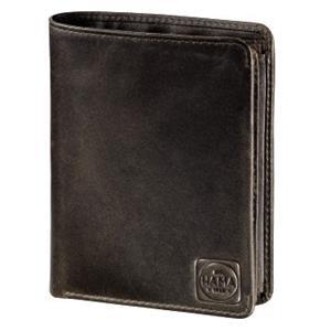 Hama 1923 Paris, pánska kožená peňaženka s ochranou dát Cryptaloy H1C, tmavo hnedá