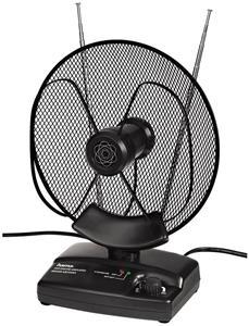Hama aktívna izbová anténa DVB-T, TV/FM, 36 dB, čierna