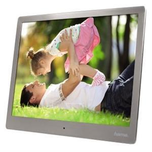 """Hama Steel Premium 9,7"""", digitálny fotorámček, strieborný"""