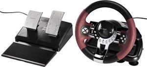 Hama Thunder V5, pretekársky volant pre PS3 a PC