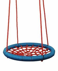 Hojdačka Woody Houpací kruh (průměr 85cm) - červený