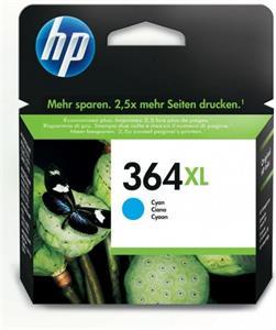 HP 364 XL Cyan CB323EE (750str.)