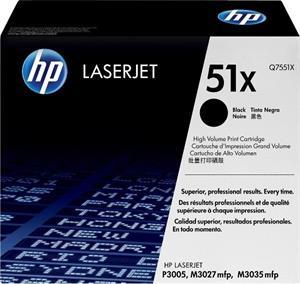 HP 51X, Q7551X, čierny, 13 000 strán