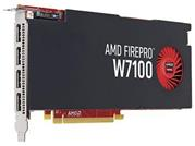 HP AMD FirePro W7100 8 GB Graphics, 4xDP