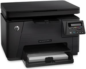 HP LaserJet Pro M176n, (color laser)