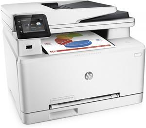 HP LaserJet Pro M277dw, (color laser), wifi, net, duplex, fax