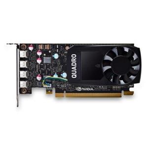 HP NVIDIA Quadro P600 2GB Kit w/2 Adapters