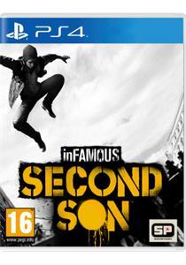 Infamous: Second Son + plagat Infamous Second Son A2 (PS4)