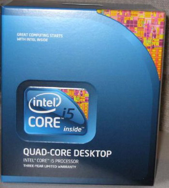 Intel® Core i5-2550K, 3,4GHz, BOX (1155)