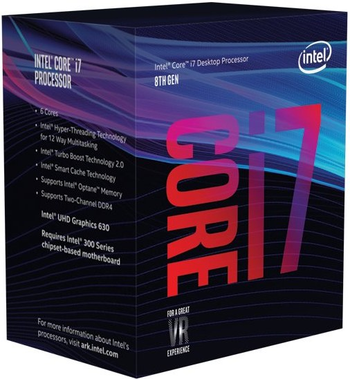 Intel® Core™i7-8700K, Box