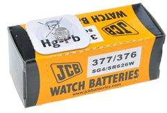 JCB hodinkové batérie typ 376/377/SG4/SR626W/AG4, 1ks