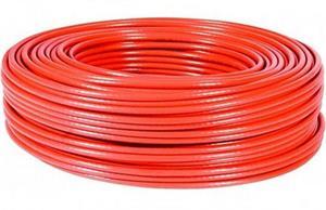 Kábel sieťový FTP, Cat5e, lanko, PVC, 305m - červený