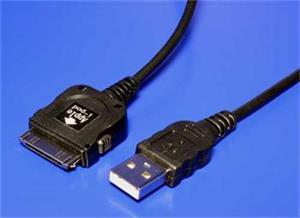 Kábel USB typ A-M, 1.2m, iPod/iPhone, prepojovací