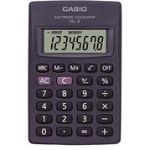Kalkulačka vrecková Casio HL-4