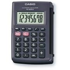 Kalkulačka vrecková Casio HL 820 LV BK