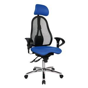 Kancelárska stolička Sitness 45 modrá