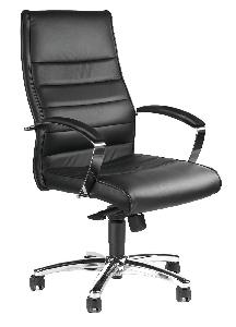 Kancelárske kreslo TD Lux10 čierna koža