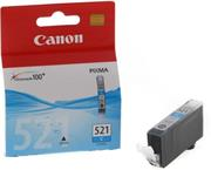 kazeta CANON CLI-521C Cyan iP3600/iP4600/MP540/MP620