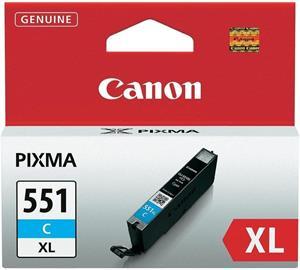 kazeta CANON CLI-551 XL Cyan