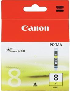 kazeta CANON CLI-8Y Yellow iP4200/5200/5200R/MP500/800