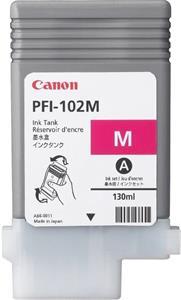 kazeta Canon PFI-102 Magenta 500/600/610/700/710