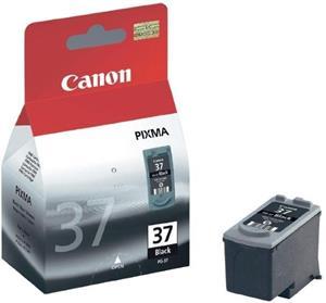 kazeta CANON PG-37 Black iP1800/ iP1900/ iP2500/ iP2600/ MP140/ MP190/ MP210/ MP220