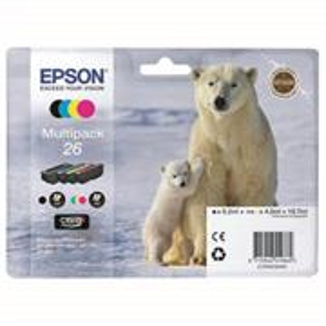 kazeta Epson C13T26164020, T261640, CMYK, 3x4,5/6,2ml, Epson Expression Premium XP-800, XP-700, XP-600