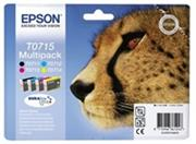 kazeta EPSON T071540 Multipack - 4 ink (C/M/Y/K), DX4050/4400(23,9ml.)