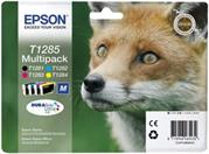 kazeta Epson T1285 multipack Stylus S22/SX125/SX425W/BX305F