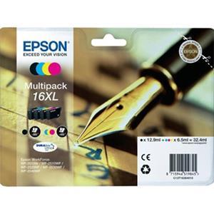 kazeta Epson T1636 (BK/C/M/Y) XL, multipack