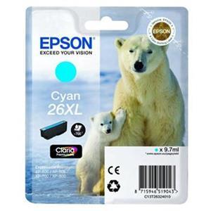 kazeta EPSON T2632 Cyan XL