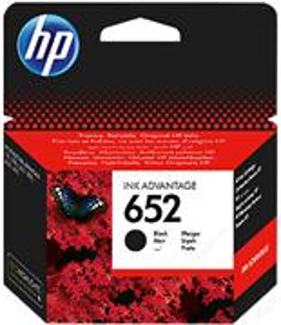 kazeta HP 652 Black Ink Cartridge