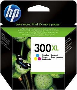 kazeta HP CC644EE No. 300 XL Tri-colour