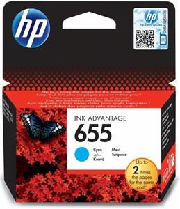 kazeta HP CZ110AE No. 655 Cyan