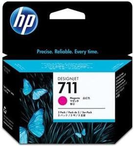 kazeta HP CZ135A No. 711 Magenta (29 ml.) 3 pack