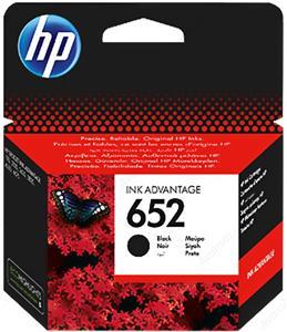 kazeta HP F6V25AE no.652, black, 6ml