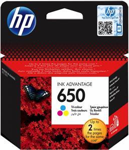 kazeta HP No.650 CZ102AE Tri-colour