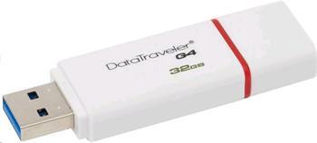 Kingston DataTraveler I Gen 4 32 GB USB 3.0 červený