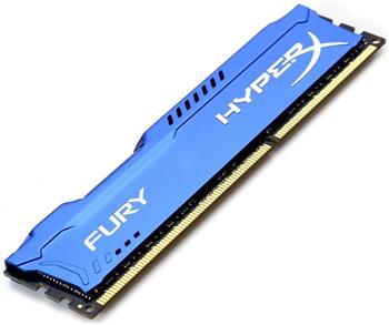 Kingston HyperX Fury, 1866Mhz, 8GB, DDR3, modrá