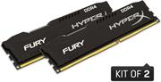 Kingston HyperX Fury Black Series, 2x4GB, 2400MHz, DDR4