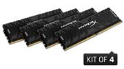 Kingston HyperX Predator, 4x4GB, 3000MHz, DDR4