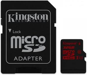 Kingston microSDHC 32GB + adaptér