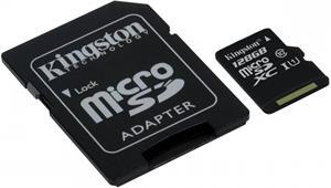 Kingston microSDXC 128GB + adaptér