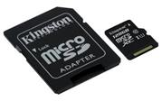 Kingston microSDXC 128GB UHS-I 45R/10W+ adaptér