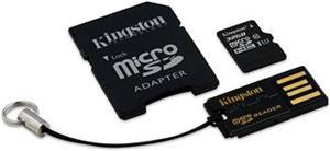 Kingston Mobility Kit G2 microSDHC 32GB + adaptér a čítačka