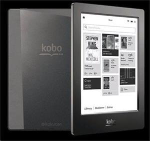 kobo aura H2O black