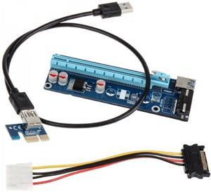 Kolink redukcia PCIe x16 na PCIe x1 (PCle riser)