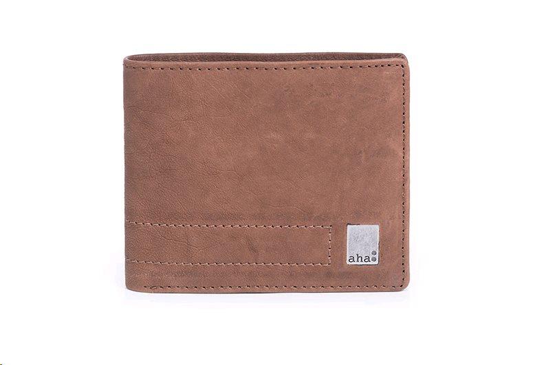 Kožená peňaženka Vintage 2, svetlá hnedá v hodnote 30€ - samostatne nepredajne