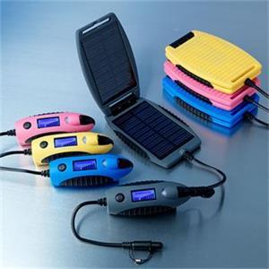 Krusell Solárna outdoorová záložná nabíjačka Powermonkey-eXplorer: panely + powerbank 2200mAh - šedá